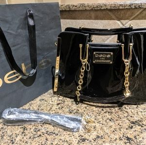 Bebe handbag with gold hardware